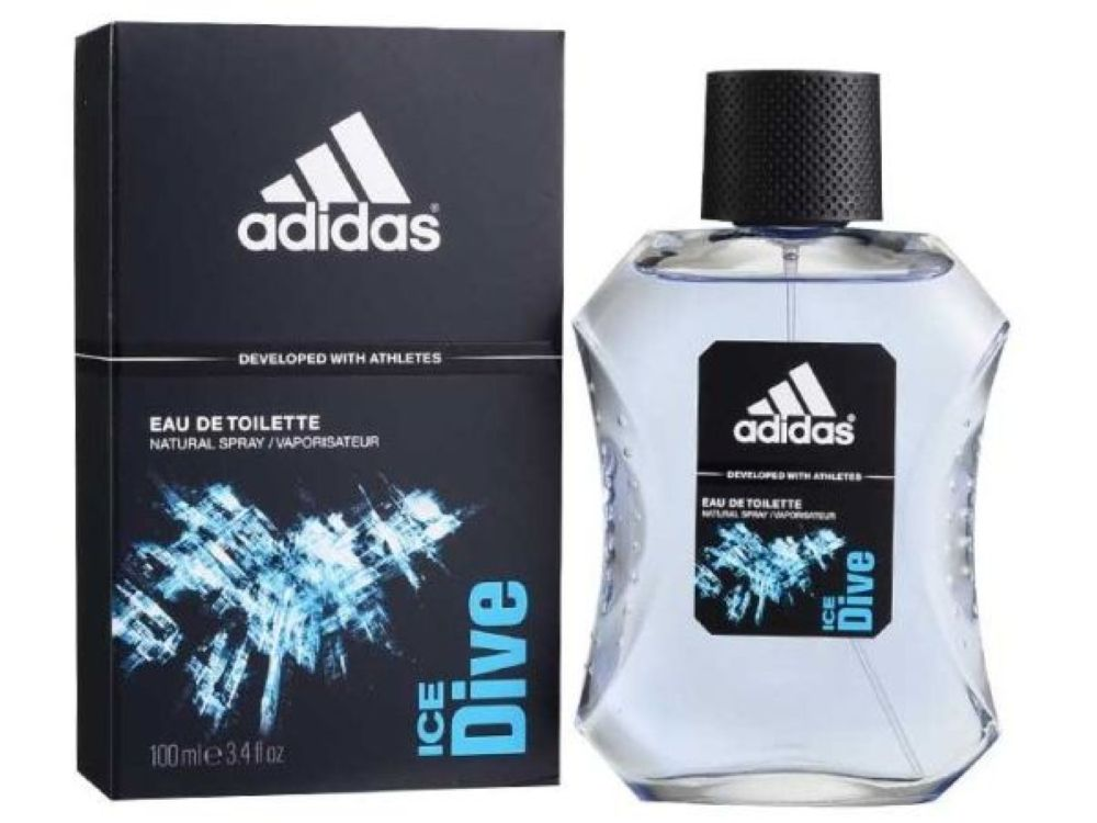 COLONIA HOMBRE ADIDAS 100ml ICE DIVE VAPORIZADOR {