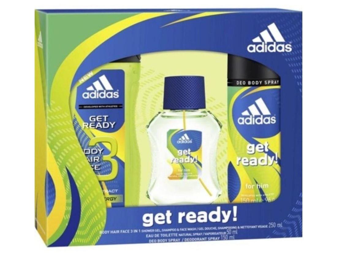 COLONIA MUJER ADIDAS 50ml CON BODY 250ml CON DESODORANTE 150ml